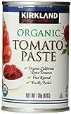 Kirkland Signature Organic Tomato Paste, 6oz cans, 12-Count