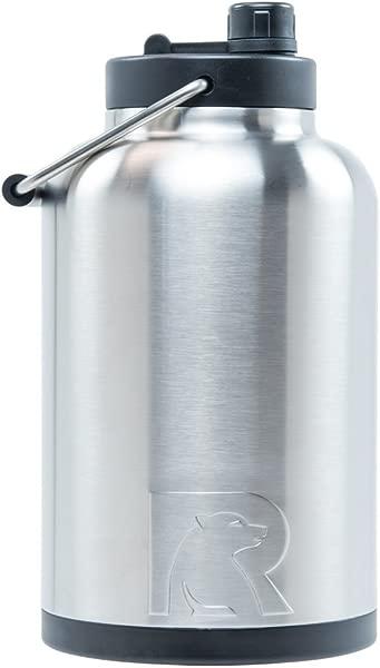RTIC 一加仑真空绝缘水壶不锈钢