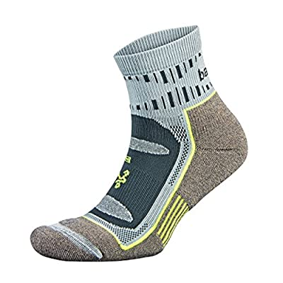 Balega Blister Resist Quarter Socks For Men and Women (1 Pair), Mink/Grey, Medium