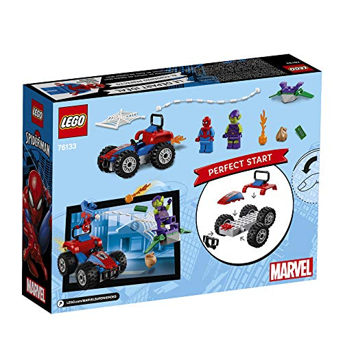 Product Image 7: LEGO Marvel Spider-Man Car Chase 76133 Building Kit, Green Goblin and Spider Man Superhero Car Toy Chase (52 Pieces) (Discontinued by Manufacturer)