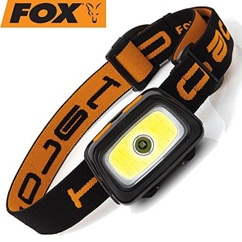 Fox Halo Multicolour Headtorch - Kopflampe zum Karpfenangeln & Wallerangeln, Angellampe zum Nachtangeln, Stirnlampe, Taschenlampe