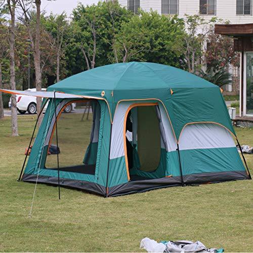 PPTS tienda de campaña de dos dormitorios y una sala de estar para 6-8 personas y 8-12 personas