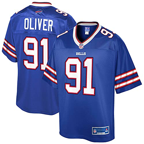 NFL PRO LINE Men's Ed Oliver Royal Buffalo Bills Team Replica Player...