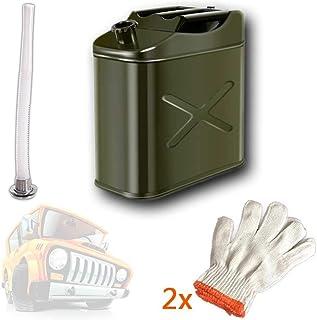 Dep/ósito de Combustible para 10L /& 20L Relaxdays 10027772 Soporte para bid/ón de Gasolina Metal Marco 1 Ud Negro