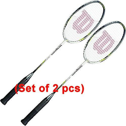 Wilson Titanium Power Badminton Rackets (2 Rackets)