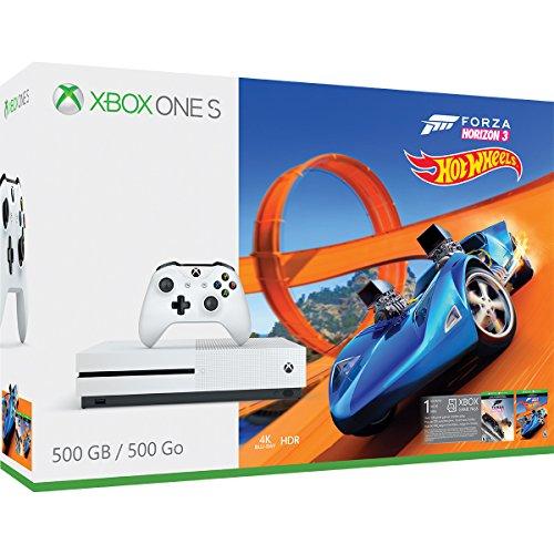 Xbox One S 500GB – Forza Horizon 3 Hot Wheels Bundle - Bundle Edition
