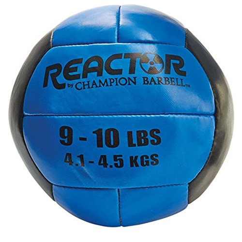 Champion Barbell Medicine Ball, 9-10 lb. - Blue