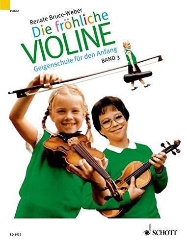 Fröhliche Violine, Bd.3, B-Tonarten, C-Dur, 2. und 3. Lage, 'Doppelgriffe und andere Kniffe': Geigenschule für den Anfang (Die fröhliche Violine)