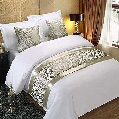 Twelve 2pcs Silver Pillowcase Pillow Cover Home Hotel Bed Sofa Pillow Sham Cushion Cover Décor 50x50cm by Twelve