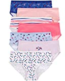 Carter's Toddler Girl's 7-Pack Stretch Cotton Panties (2-3T, Rainbow Stripes(34564212)/Planets/Spaceship)