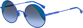 Fendi FF0248/S Sunglasses Blue w/Grey Azure 53mm Lens 0PJP FF0248S FF 0248S FF 0248/S
