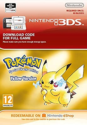 Pokémon Yellow [3DS Download Code]