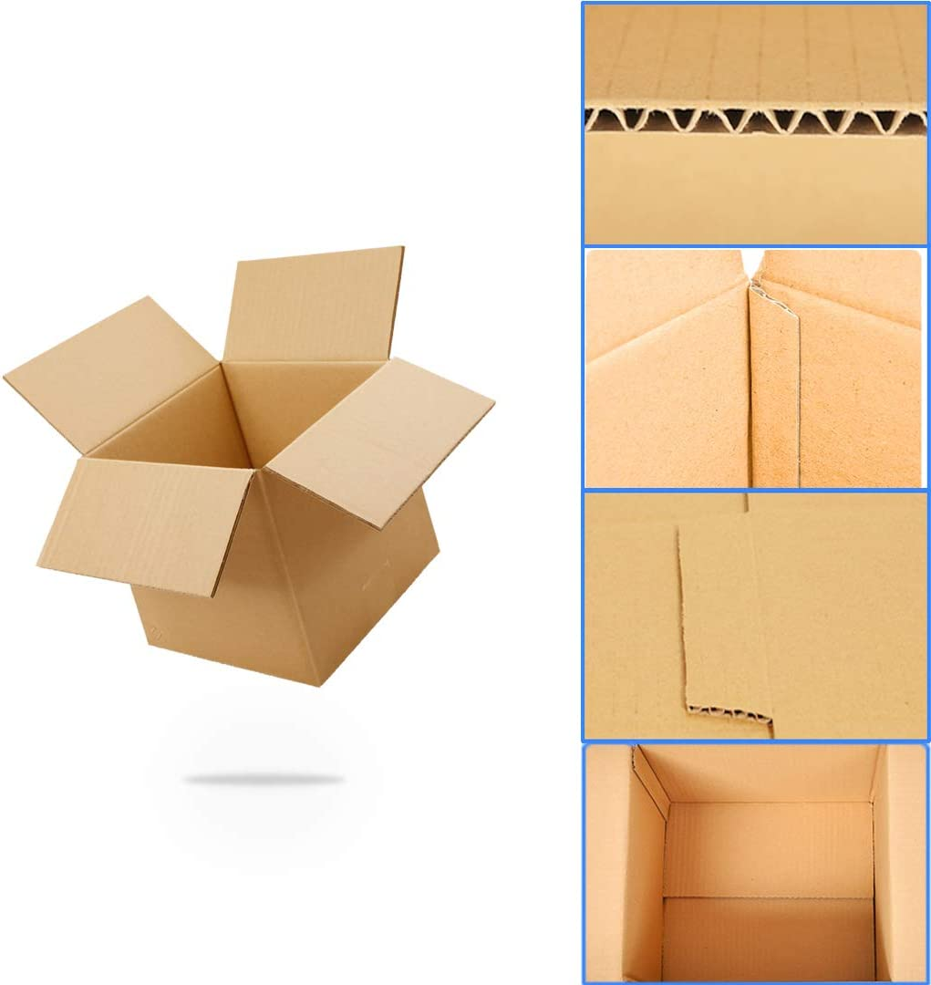 All stores are sold HONAGU Shipping Boxes 6 x inches Corrugated Hard Price reduction Kraft