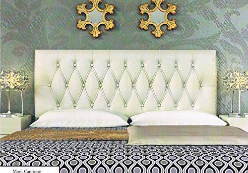 colchones y muebles baratos Cabecero tapizado Capitone (180cm)