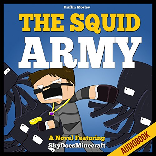 The Squid Army audiobook cover art