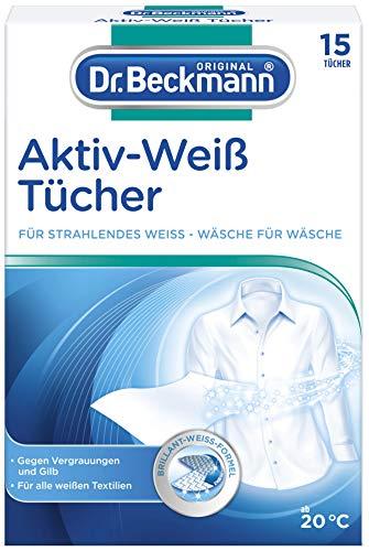 Dr. Beckmann Aktiv-Weiß Tücher, strahlendes Weiß, 15 Tücher