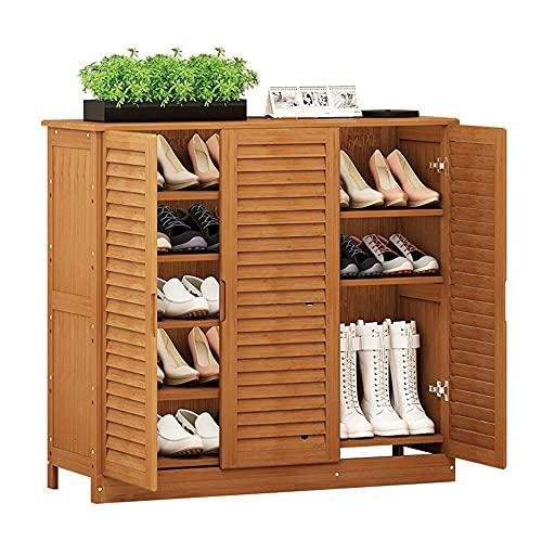 ZAIHW Armarios de Zapatos para el hogar cajones de Tres persianas Armario de Pasillo Minimalista Moderno/Armario de balcón de Porche (Color: A)