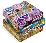 Magic Puzzles 3-Pack: The Happy Isles, The Mystic Maze, & The Sunny City - 1000 Piece Jigsaw Puzzles from The Magic Puzzle Company