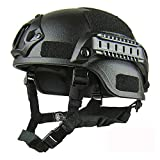 LIBWX Tactical Military Ballistic Helmet, Leichter Qualitätshelm, Airsoft MH Tactical Helmet...