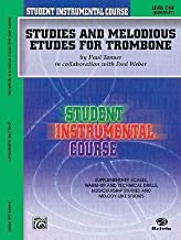 [Studies and Melodious Etudes for Trombone, Level One (Student Instrumental Course)] [Author: Tanner, Paul] [March, 2002]