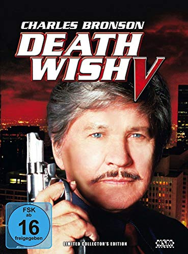 Death Wish 5 - Face of Death [Blu-Ray+DVD] - uncut - auf 888 limitiertes Mediabook Cover A