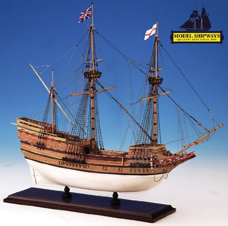 Model Shipways MS2020 Mayflower Wood Metal Ship Kit - Model Expo by Model Shipways