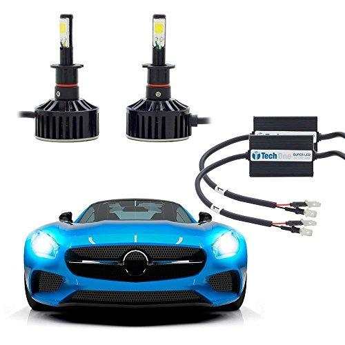 Kit Lâmpada Super Led Automotiva Tech One H3-12v - 6000k - 36 Watts - 7400 Lumens