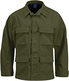 Men's BDU Coat, Olive, Small Regular