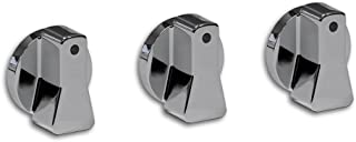 Steadfast Auto 10044 Ford Compatible Billet Aluminum A/C Knobs Chrome, Replacement For Ford Ranger