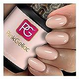 Pink Gellac - Esmaltes de uñas de gel, crudo vintage, 15 ml
