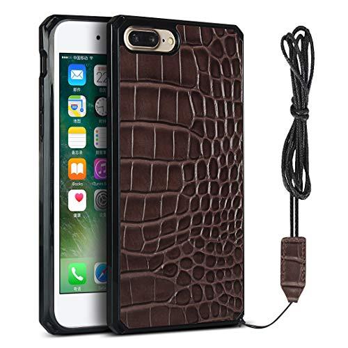 Étui de protection pour iPhone 7 Plus / iPhone 8 Plus (Marron)