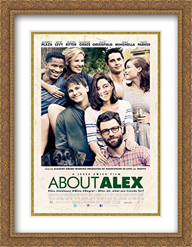 About Alex 28x36 Double Matted Large Large Gold Ornate Framed Movie Poster Art Print