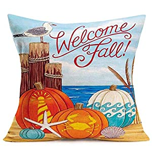 519oO6Ab2qL._SS300_ Beach Fall Decorations & Beach Autumn Decor