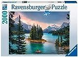 Ravensburger Puzzle 16714 - Spirit Island Canada - 2000 Teile Puzzle für Erwachsene und Kinder ab 14 Jahren, Landschaftspuzzle mit Kanada-Motiv