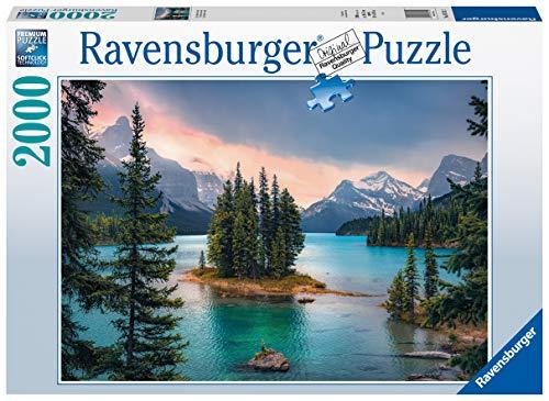 Ravensburger Puzzle Spirit Island Canada 16714 Canada-2000 Teile, Mehrfarbig
