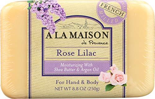 Rose Lila jabón de barra, 8.8 oz (250 g) - A La Maison de Provence