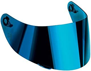 AGV K-3 SV & K-5 Motorcycle Helmet Shield Visor Windscreen Clear Tint ALL SIZES (XS,S,MS, Iridium Blue � GT2-1)