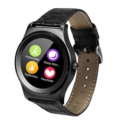 LESHP Fitness Tracker, Sport Tracker Smartwatch Sweatproof Bluetooth Smart Uhr Telefon – Aktivitätstracker für Android und IOS, Schrittzähler, Pulsmesser uhr,Push Message und Anrufer