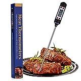 Nuonove Termometro Cucina, Termometri Carne, Termometro Digitale per Alimenti, Schermo LCD, per BBQ Cottura Alimenti Latte Dolci Olio Liquidi