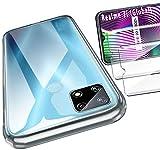 HYMY para Realme 7i Funda (6.5') + 2 x Cristal Templado - Transparente Carcasa y Cristales Protector de Pantalla TPU Silicona Suave Gel Caja Cover Tapa Caso Carcasa Cubierta -Clear