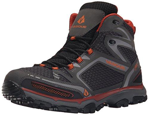 Vasque Men's Inhaler II Gore-Tex Hiking Boot, Magnet/Orange,10.5 M US