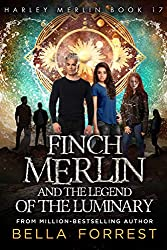 Cover of Harley Merlin 17: Finch Merlin and the Legend of the Luminary