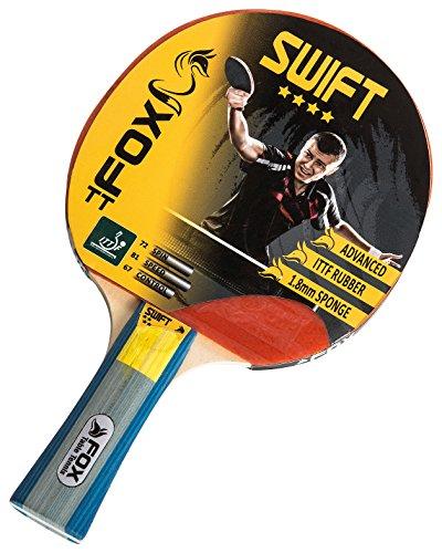 Fox TT Swift 4Star Tischtennisschläger, rot