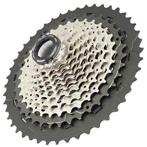 AJO XT M8000 Index 11-40/42 / 46T Tornillo de Bloque de Rueda Libre de Bicicleta en piñón de Cassette, piñón de Rueda Libre de Pieza de Repuesto de Bicicleta MTB de 11 velocidades (Size : 11-42T)