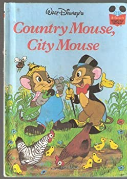 Country Mouse, City Mouse - Book  of the Disney's Wonderful World of Reading