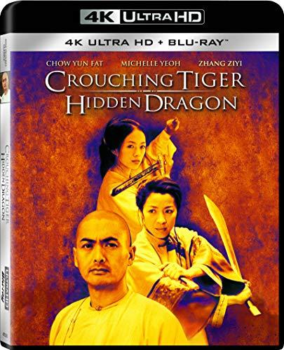 Top New Crouching Tiger, Hidden Dragon 4K UHD + BD [Blu-ray]
