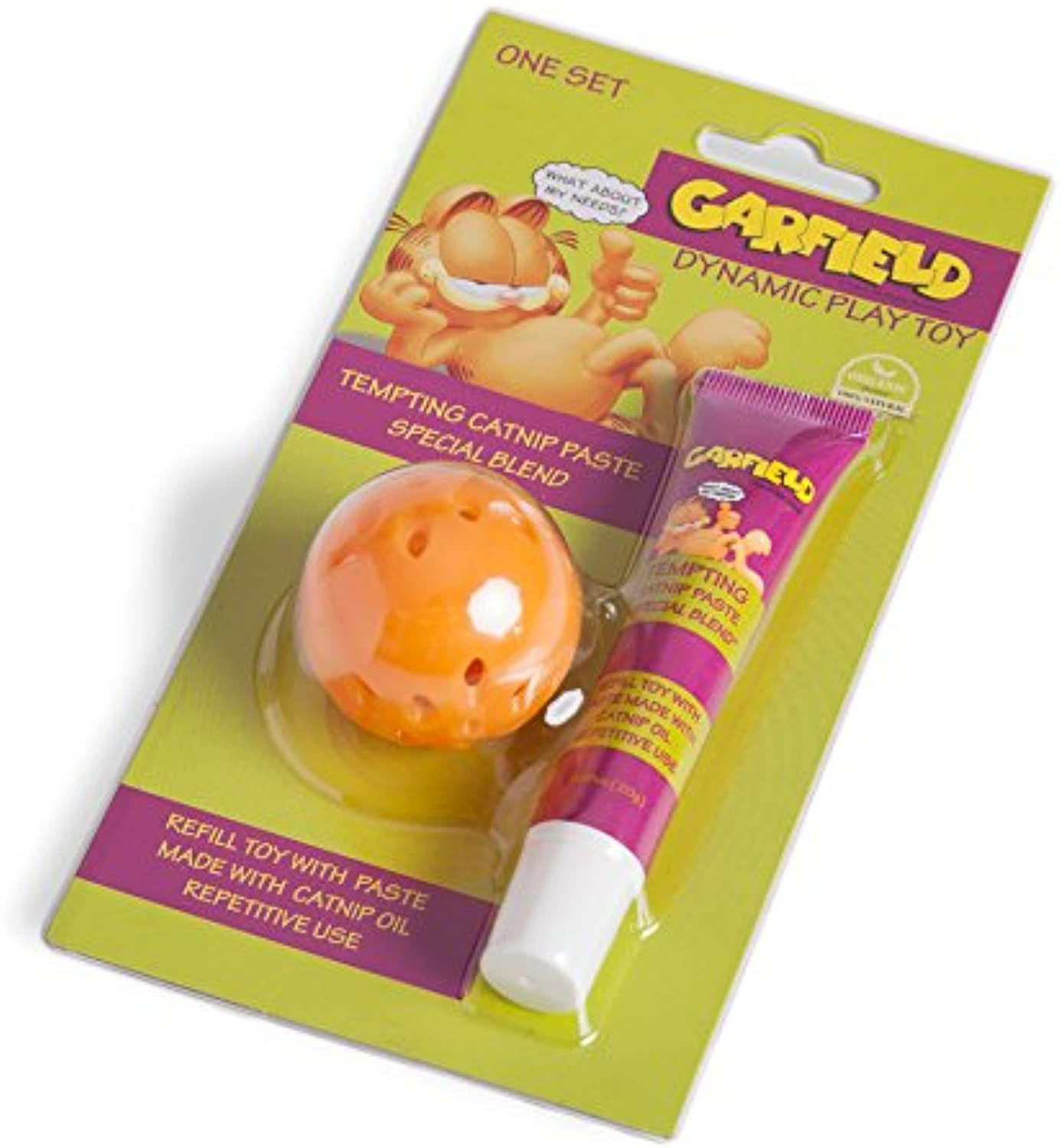 Garfield Dynamic Ball Toy with Catnip Paste