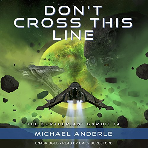 Don't Cross This Line audiobook cover art