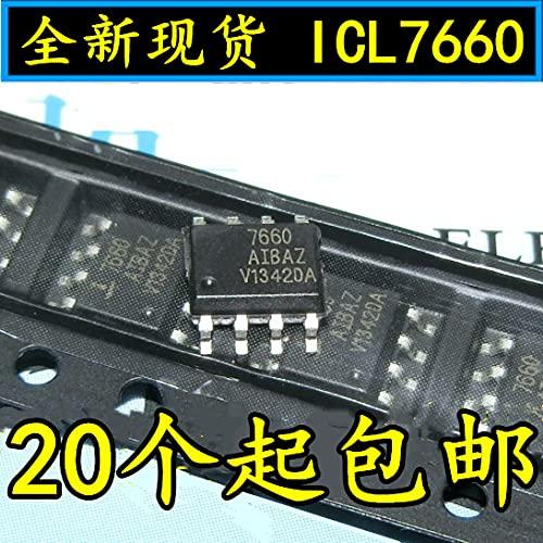 10PCS [Premium] Domestic ICL7660 ICL7660AIBAZ SPY SOP8 DC/DC Power Converter