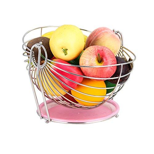 Canasta de frutas Columpio de frutas Decoración de la sala de estar Canasta de frutas
